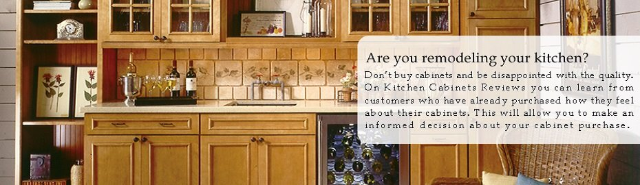 Kitchen Cabinet Reviews | Online Source For Honest Reviews Of Kitchen  Cabinets